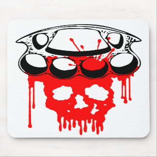 Brass Knuckles Mouse Pads