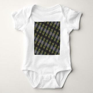 Brass Knuckles Pattern Baby Bodysuit