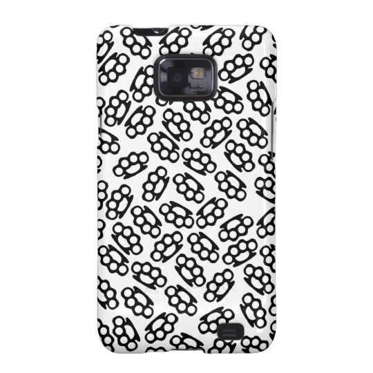 Brass Knuckles Pattern Case (Whiteout)