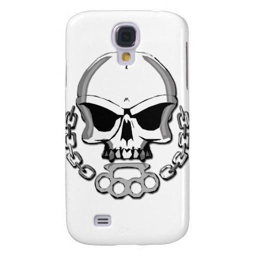 Brass knuckles skull HTC vivid / raider 4G case