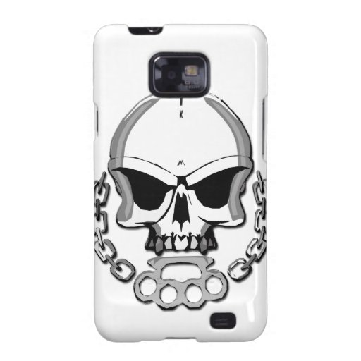 Brass knuckles skull galaxy s2 covers