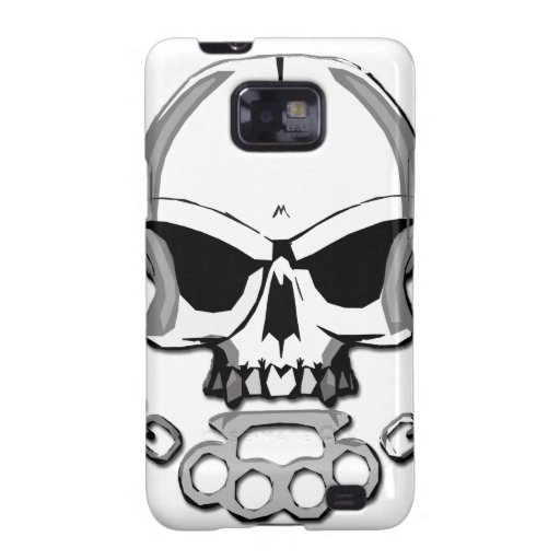 Brass knuckles skull galaxy SII cover