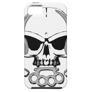 Brass knuckles skull iPhone SE/5/5s case