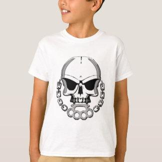 Brass knuckles skull T-Shirt