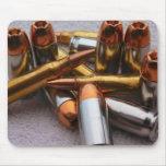 Brass & lead bullets mousepad