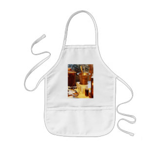 Brass Mortar and Pestle Apron