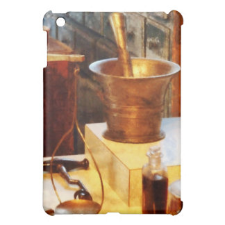 Brass Mortar And Pestle iPad Mini Cases