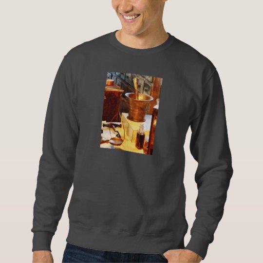 Brass Mortar And Pestle Sweatshirt