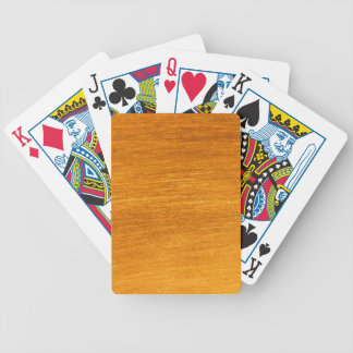 Brass or Copper Bicycle Playing Cards