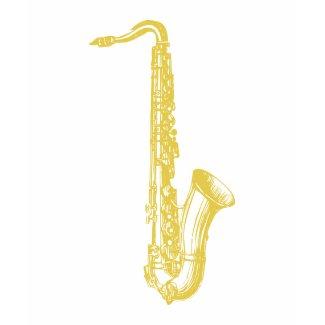 Brass Sax shirt