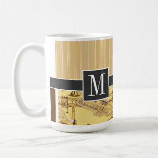 Brass Trumpet; trumpets Classic White Coffee Mug