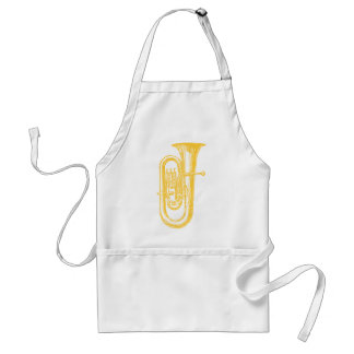 """Brass"" Tuba Adult Apron"