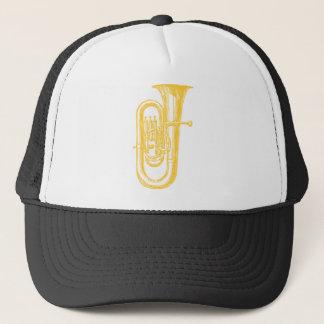 """""""Brass"""" Tuba Trucker Hat"""