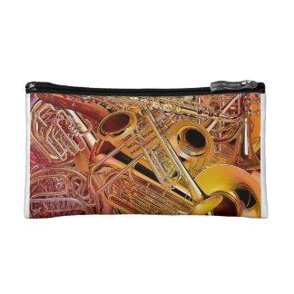 Brass Wall bagette Makeup Bag