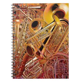 Brass Wall notebook