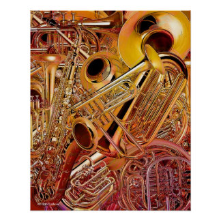 Brass Wall Posters