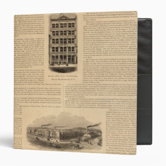 Brass Works of the Scovill Manufacturing Company Vinyl Binder
