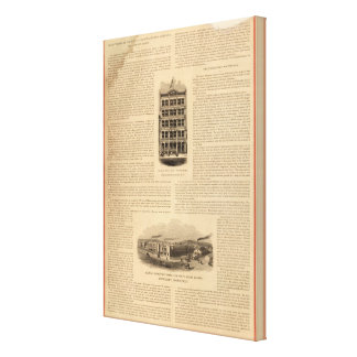 Brass Works of the Scovill Manufacturing Company Canvas Print