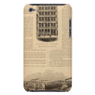 Brass Works of the Scovill Manufacturing Company iPod Touch Cases