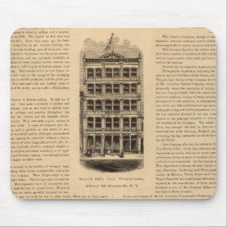 Brass Works of the Scovill Manufacturing Company Mouse Pad