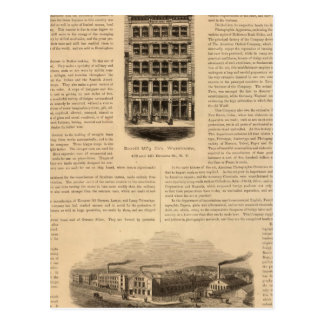 Brass Works of the Scovill Manufacturing Company Postcard