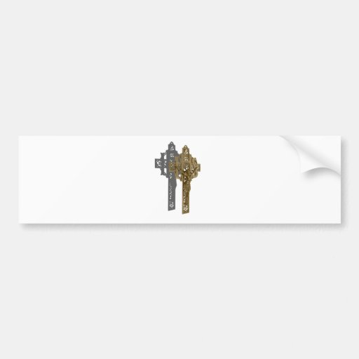 BrassCrucifix042112.png Etiqueta De Parachoque