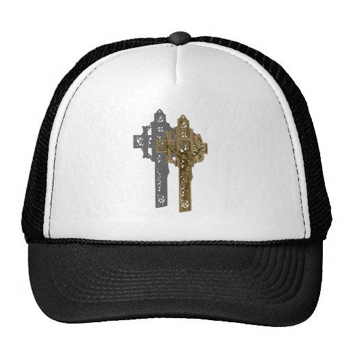 BrassCrucifix042112.png Trucker Hat