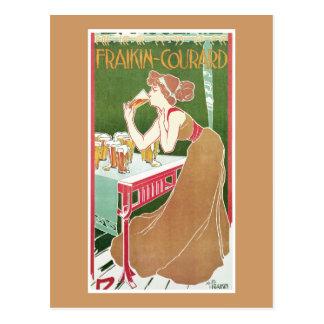 Brasserie Fraikin-Courard, 1900 Postcard