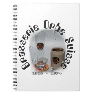 Brasserie Orbe Nootbook Spiral Notebook