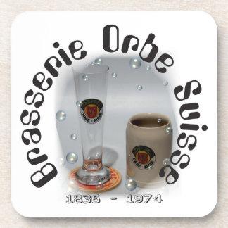 Brasserie Orbe Suisse cork reductor Drink Coaster