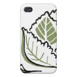 Brassica oleracea iPhone 4 carcasas