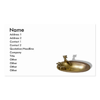 BrassSink092110, Name, Address 1, Address 2, Co... Business Card Templates