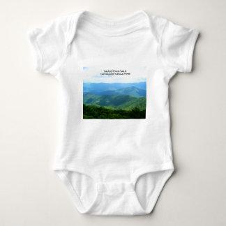 Brasstown Bald - Chattahoochee National Forest Baby Bodysuit