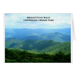 Brasstown Bald - Chattahoochee National Forest Greeting Card