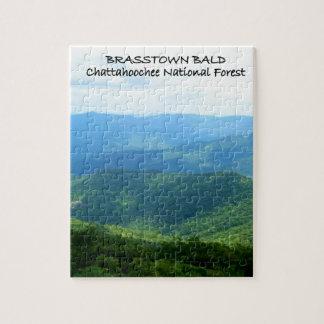 Brasstown calvo - bosque del Estado de Chattahooch Rompecabezas