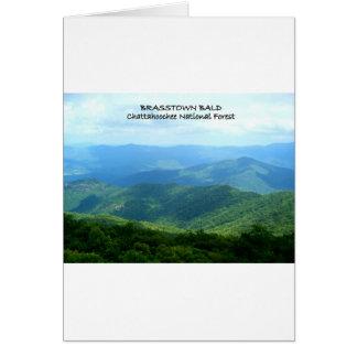 Brasstown calvo - bosque del Estado de Chattahooch Tarjeta De Felicitación