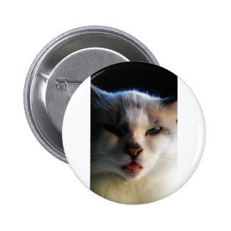 Brat Cat 2 Inch Round Button