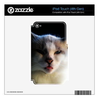 Brat Cat Decal For iPod Touch 4G