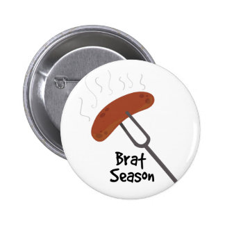 Brat Season Pinback Button