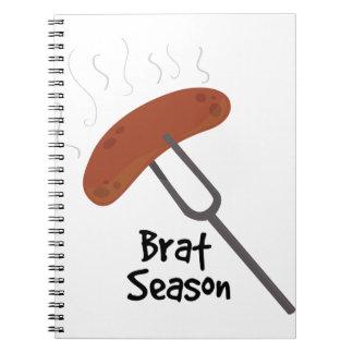 Brat Season Notebook