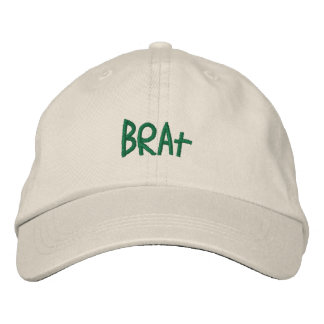 Brat: Truth in advertising Embroidered Baseball Cap