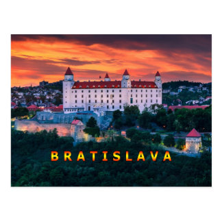 Bratislava 001D Tarjeta Postal