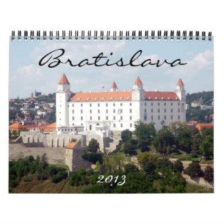 bratislava 2013 calendar