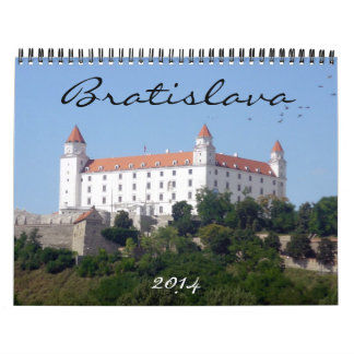 bratislava 2014 calendars