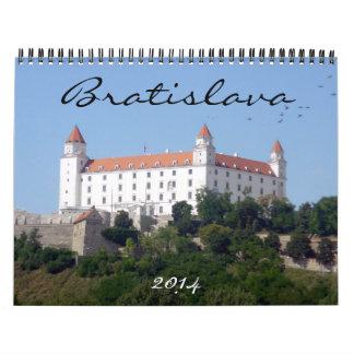 bratislava 2014 calendar