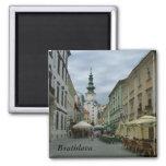 Bratislava 2 Inch Square Magnet
