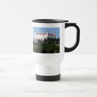 bratislava castle 15 oz stainless steel travel mug