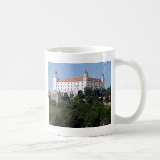 bratislava castle classic white coffee mug