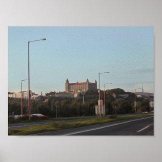 Bratislava Castle in Oil Print