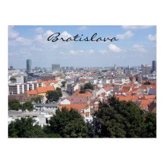 bratislava city postcard